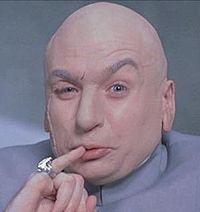 I'll settle for.... One. Hundred. Gazillion. Dollars.