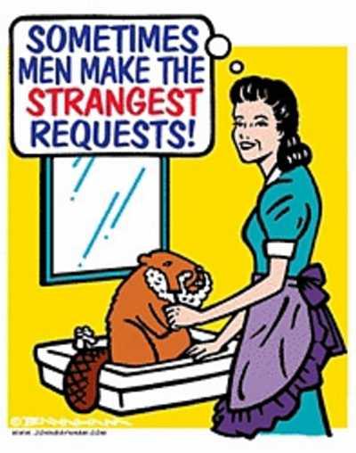 Shaving a Beaver