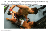 """Excerpt from Escobedo v. THQ Inc. lawsuit including """"signature moment"""" shot allegation."""