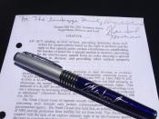 Nevada's Anti-SLAPP law, freshly signed.
