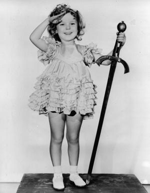 1933, child actress Shirley Temple