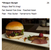 Holy mother of fucking god.  The Shogun Burger!
