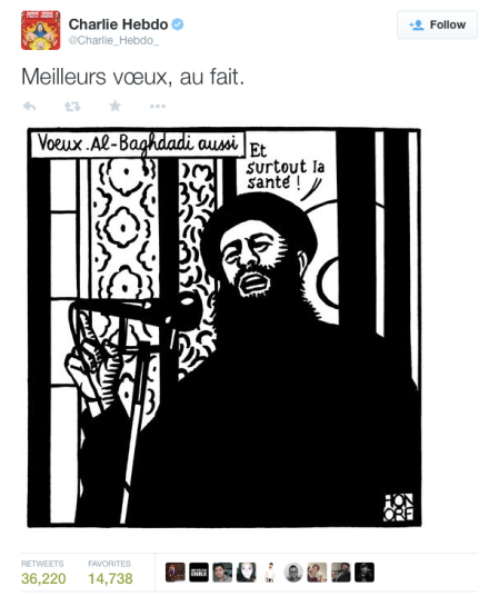 Hebdo - Honore Tweet
